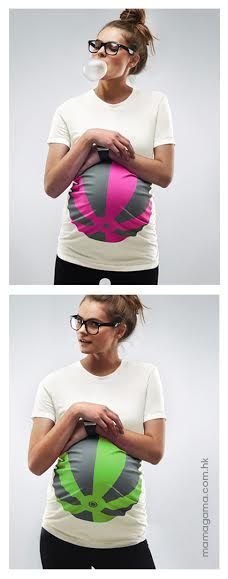 These guys make the best maternity tshirts! Why didn't I have one of these when I was pregnant with the twins and enormous?