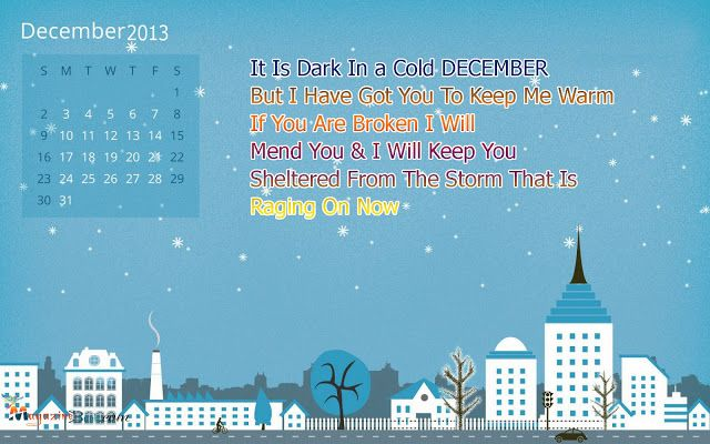 Happy (Winter) December Quotes And SMS Messages With Picture | SMS Urdu Message