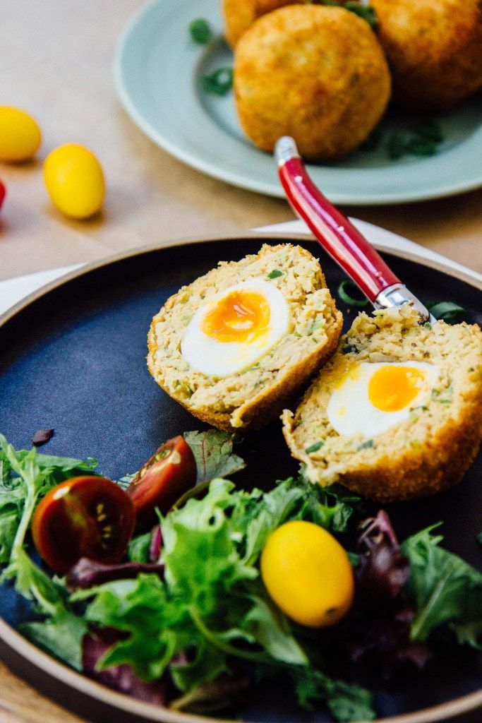 vegetarian scotch eggs | theswirlingspoon.com