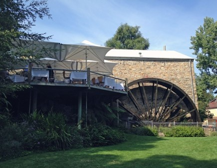The old Bridgewater Mill, Mt Barker in the Adelaide Hills - now Petaluma winery & restaurant.