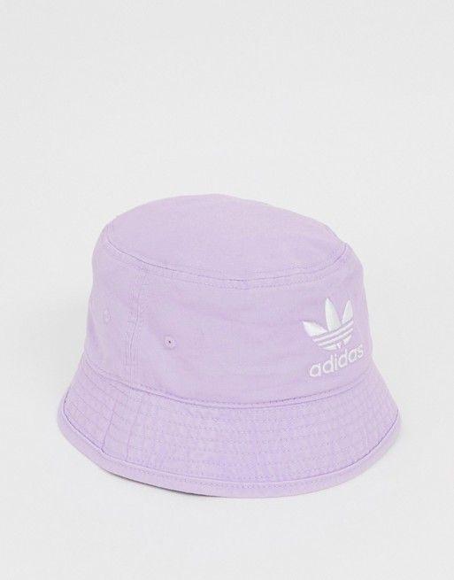 cc52bdf4d5e01 adidas Originals bucket hat in lilac in 2019 | Clothes png | Hats ...