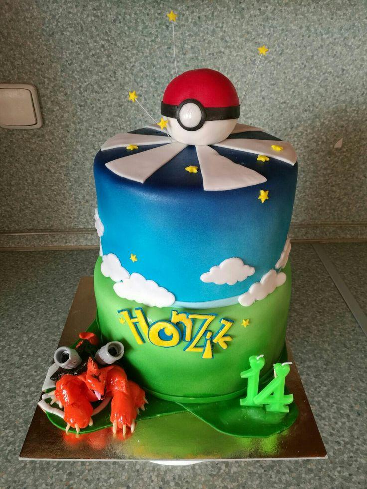 PokemonGo cake