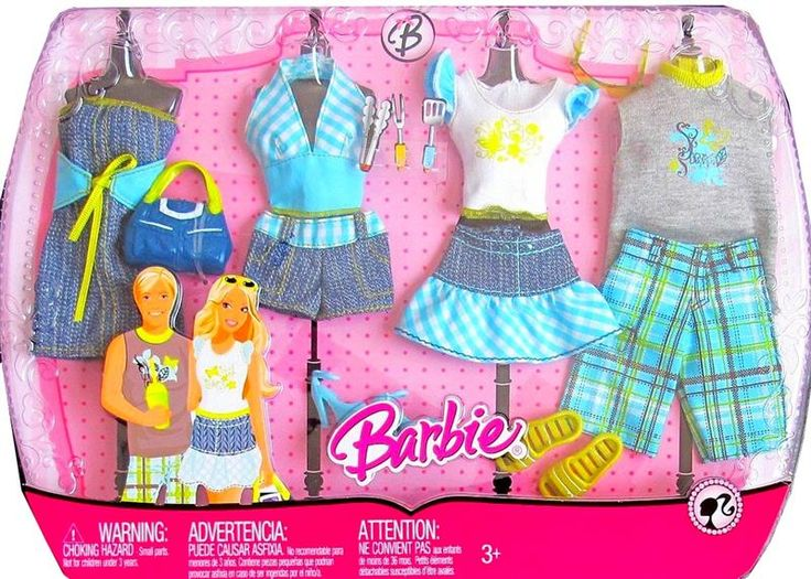 Barbie Fashion Trendy Outdoor BBQ Outfit