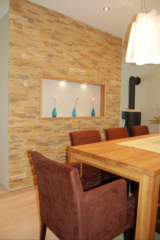 riemchen im wohnzimmer excellent stein verblender ecopiedra kunststein riemchen wand berlin. Black Bedroom Furniture Sets. Home Design Ideas