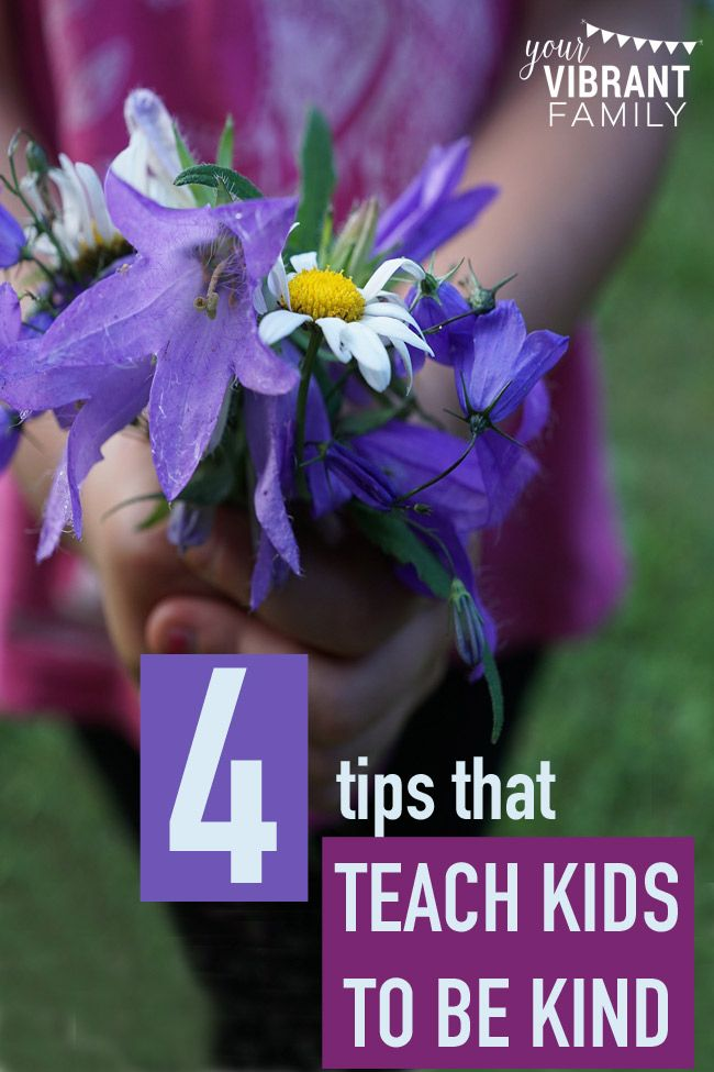 Teaching kids to be kind isn't a simple three-step lesson plan that fits every kid. Teaching kids kindness is messy, unexpected and requires that we, ahem, show kindness ourselves.   Teaching kids about kindness is an ongoing lesson that requires intentionality and ongoing grace.  That's because unkind words seem to jump out of nowhere at the most inconvenient moments. How can we realistically teach kids to be kind? Here are 4 great tips!