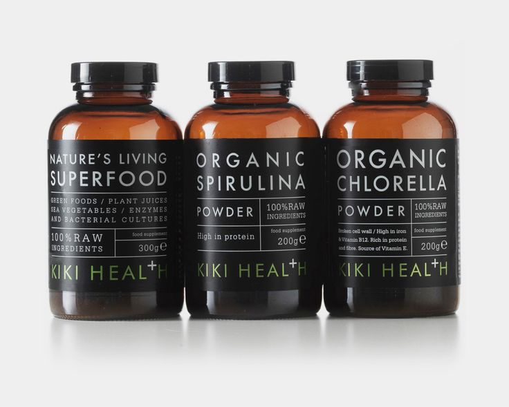 Kiki Health packaging design - Studio h