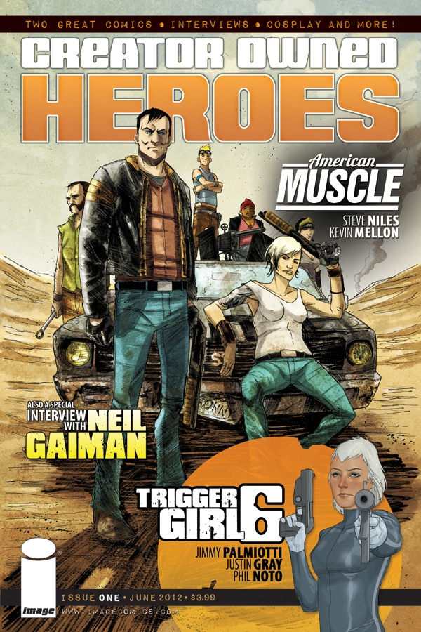 COVER to Creator Owned Heroes #1: Comic Books