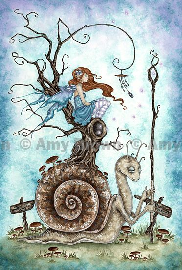 The great snail by Amy Brown