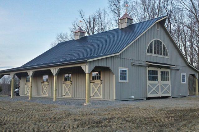 Modular Barn Johnstown Pa J N Structures Modular Barns