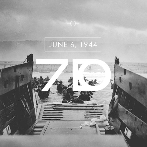 """D-Day remembered 70years on - pay tribute to those who died on a day that """"changed the world""""."""