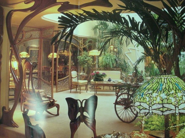 There Is A House In Mexico City Owned By An Engineer Named Ignacio Holtz That Completely Done Art Nouveau Style