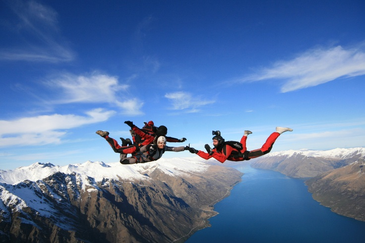 Sky Dive in New Zealand with NZONE!