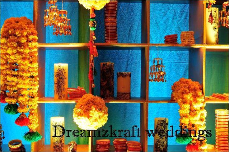 Dreamzkraft weddings I Mehendi decor