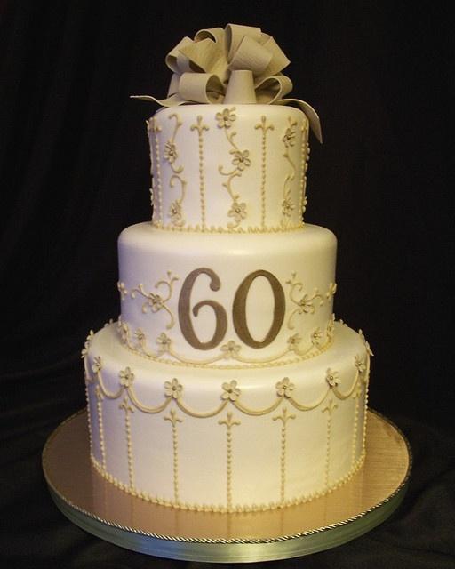 8 Best 60th Wedding Anniversary Images On Pinterest Cake Wedding