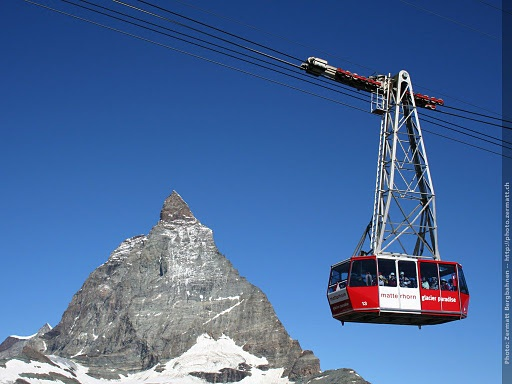 This is a spectacular ride and it's the link to the Italian side of Zermatt. You need to take the Matterhorn Express cable car to the base station for this station. (Wait..there may be another way from the base of Zermatt to do this..need to double check.) Either way, an amazing ride.