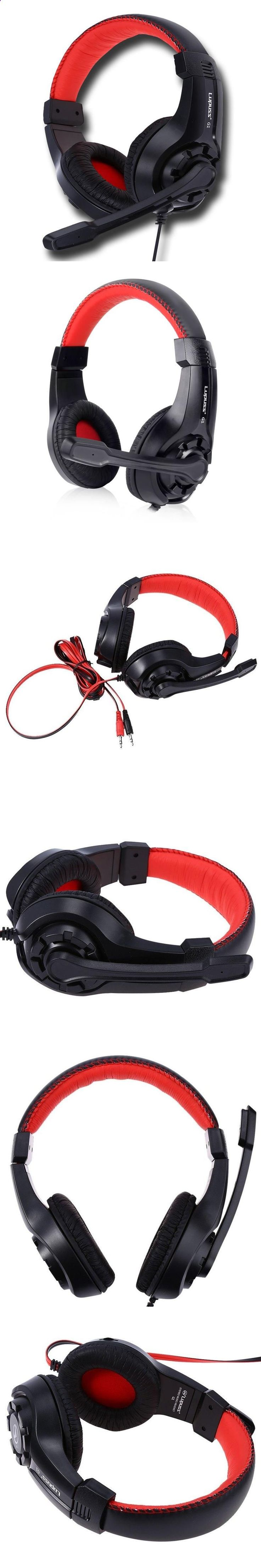 Sports Headphones - LUPUS G1 Adjustable 3.5mm Sport Headphone Game Gaming Headphones Headset Low Bass Stereo with Mic Wired for PC Laptop Computer - If you usually go out to run, walk or any other sport in which you usually carry music to accompany or motivate you, we have selected 13 models of sports headphones that we consider among the best in the market for different aspects, from comfort to use to design, sound quality or value for money, so that you find variety and can adjust th...
