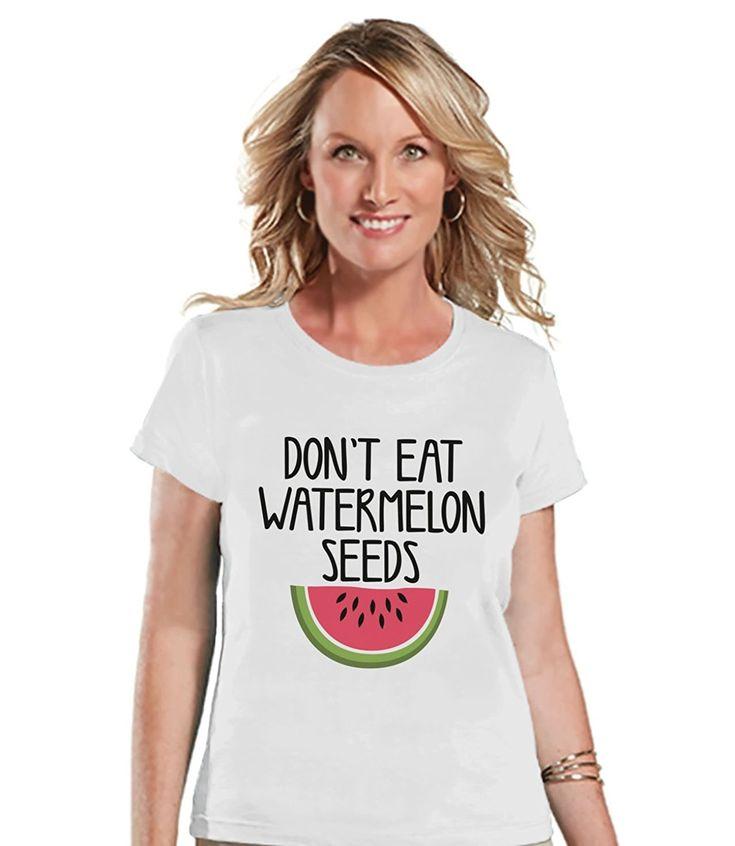 Custom Party Shop Women's Funny Pregnancy Announcement T-shirt