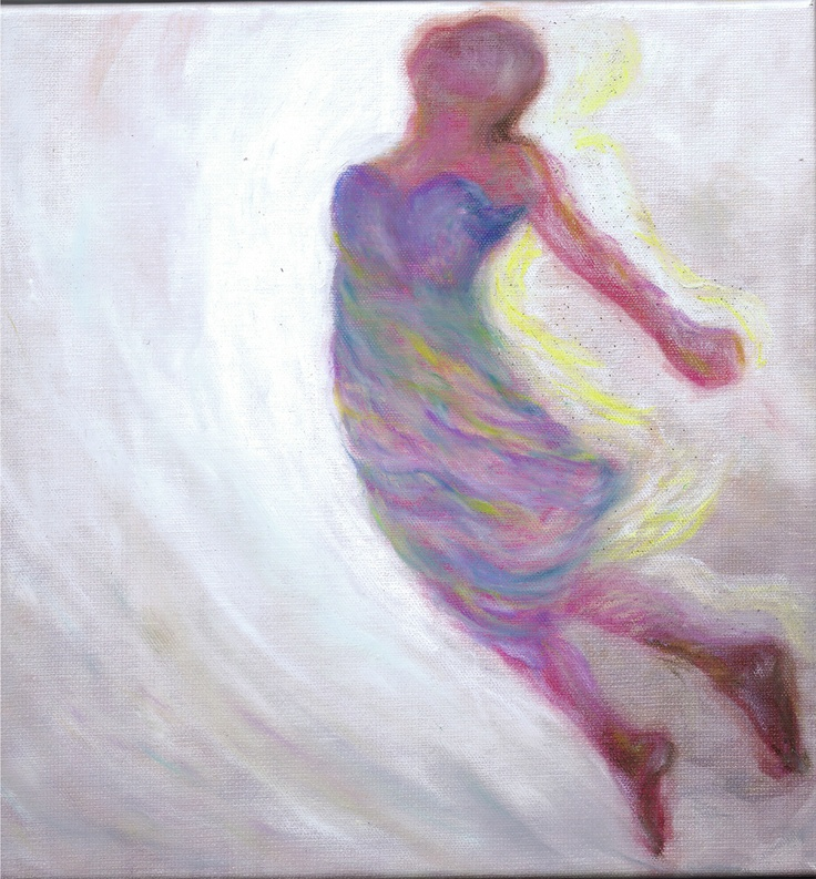 RISELEY, LINDA 'Satori Moments in Dance' Canvas with oil pastels, stippling ink, digital print Size: 30x30 $765