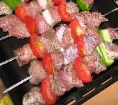 Greek Beef Kebobs