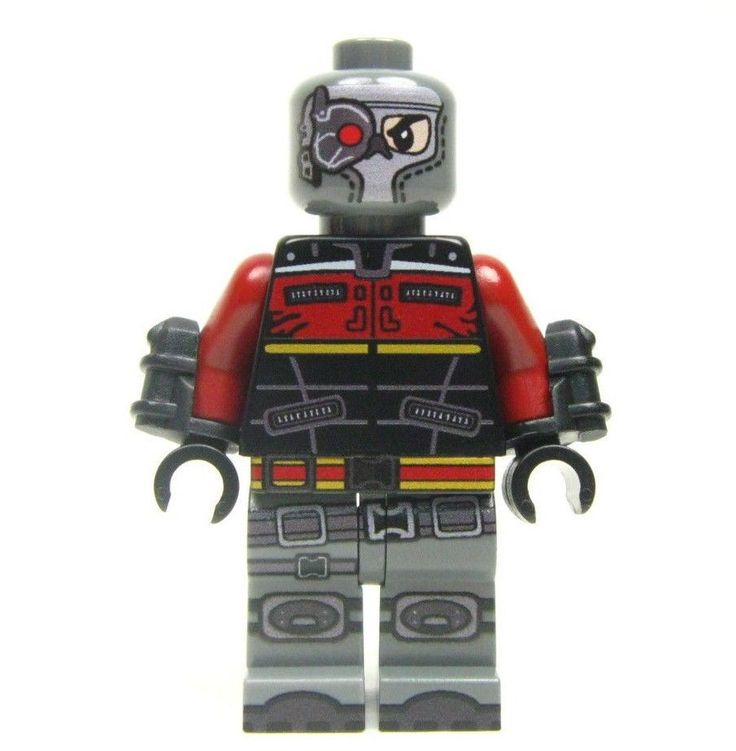 Lego Custom LEGO DEADSHOT from Arkham Origins -  Batman Dark Knight Robin #LEGO