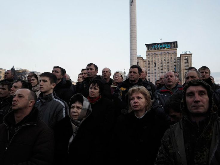 21. Februar 2014, Kiew, Ukraine: regierungskritische Demonstranten auf dem Maidan-Platz © Jerome Sessini/Magnum Photos/Agentur Focus