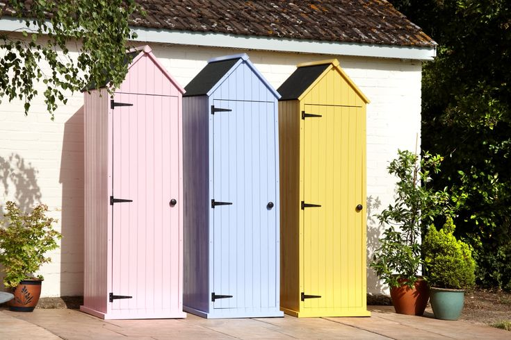 17 best images about zebarella 39 s bright and colourful for Storage huts for garden