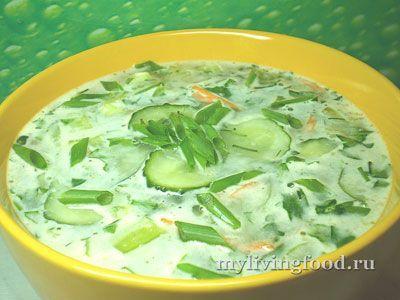 Сыроедческий суп «Рассольник»
