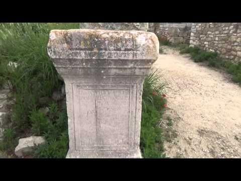 Video tour of Cannae, ancient roman city