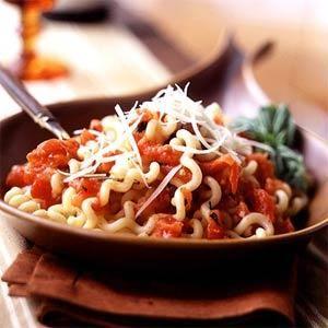Fusilli with Roasted Tomato Sauce Recipe | MyRecipes.com