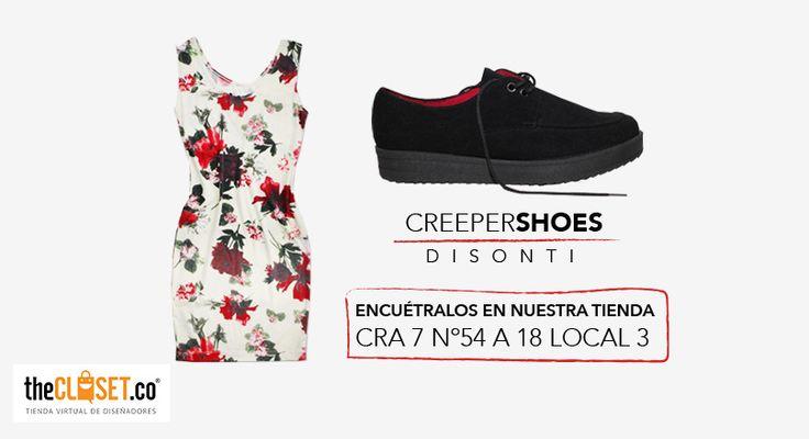 Encuentra los #creepershoes de DISONTI CALZADO en nuestra tienda Cra. 7 # 54 a - 18 local 3 #TheClosetStore #DiseñoIndependiente #RedDeDiseñadores