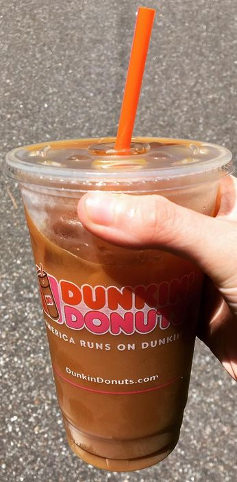 Dunkin Donut's S'Mores Coffee