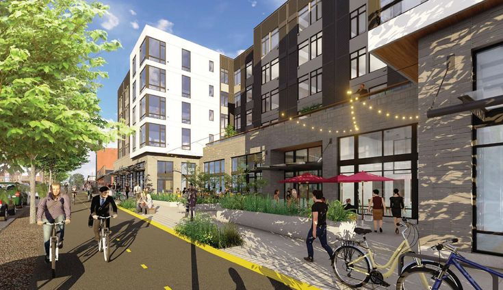Ballard Yards 171 Apartments On Market Street Up For Final Review A Central Courtyard Will Face Market And The Burke Gilm Market Street Yard Northwest Region