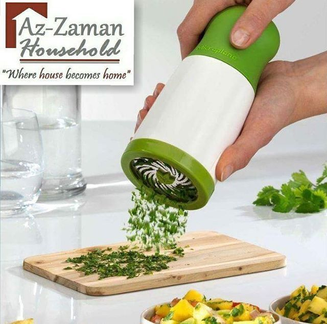 Bringing you the new As Seen On Tv Herb Grinder, Which can be used to cut or chop your herbs & can also be referred to as tobacco grinder.  Now with this herb grinder you can quickly mince herbs for salad dressings, sauces & more without bruising or blemishing. This Herb Mill chops fresh herbs like parsley, mint, oregano, cilantro, rosemary, sage & mint with hundreds of tiny scissors.  It has soft-touch ergonomic handle & patented dual-action stainless-steel scissor blades to slice through…