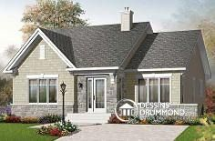 Plan de maison no. W3127 de dessinsdrummond.com