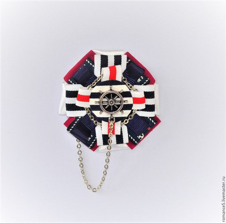 Купить Морская брошь-орден Капитан Леди Морган - комбинированный, брошь, брошь ручной работы