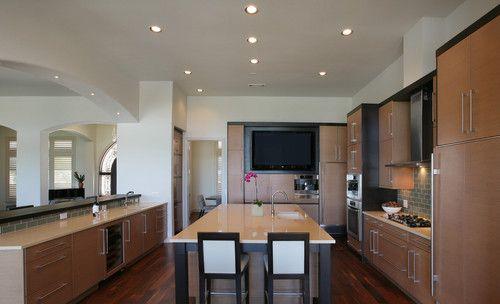 Kitchen Tv Cabinets And Tvs On Pinterest
