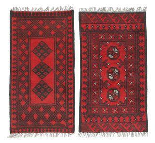 Afghan pakkauksen sisältö: 2 -matto 50x100
