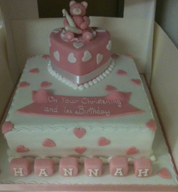 Square Christening Cake Images : square christening cakes - Google Search christening ...