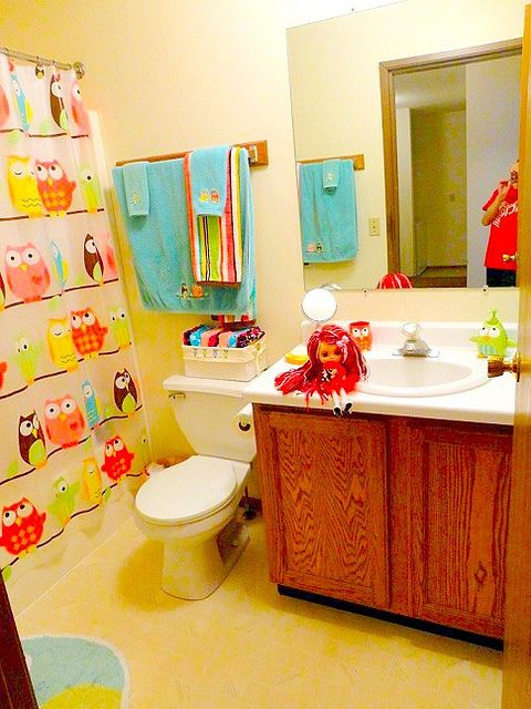 Kids Owl Bathroom Decor Kids Matttroy
