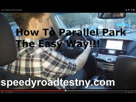 How To Parallel Park (The Easy Way!) Road Test NY Ready. - YouTube