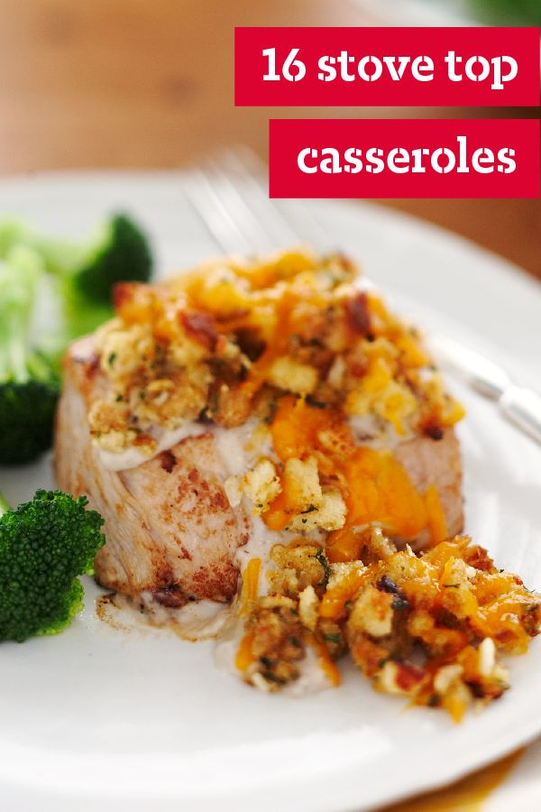 16 Stove Top Casserole – Stove Top casseroles rank at the top of the list when it comes to easy dinner recipes. When you've got this one ingredient in your pantry that can deliver flavor in a seriously fast way, you've got a delicious dinnertime dish under control.