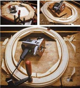 Realizzare una cornice ovale utilizzando un #seghetto o una #fresatrice! #DIY #faidate #legno #cornice #corniceovale #lavorarelegno #guidalegno #bricolage #faidatelegno