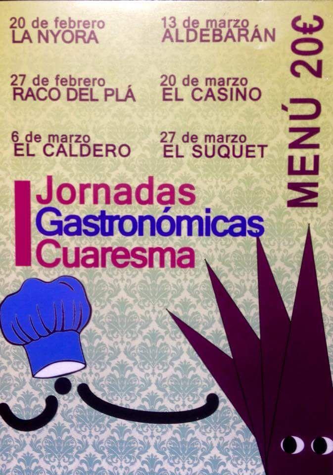 Jornadas Gastronómicas Cuaresma en Alicante