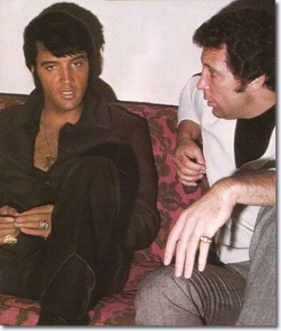 Elvis and Tom Jones