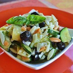 Orzo and Zucchini Salad - Allrecipes.com