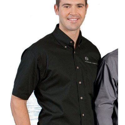 18 best images about oxford shirts custom embroidered for Embroidered work shirts no minimum order