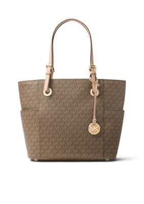 Michael Michael Kors  Jet Set Item Signature Tote - Mocha - One Size