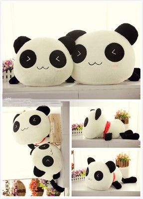 Cute Animal Pillows Diy : 1000+ ideas about Panda Stuffed Animal on Pinterest Plush Dolls, Toys and Crochet Panda