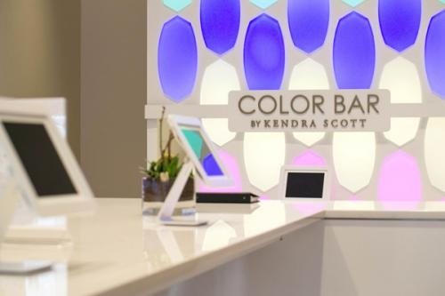 The Digital Color Bar at Kendra Scott Houston #HoustonTidbits