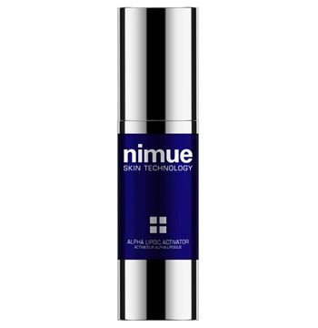 Alpha Lipoic Activator. A day or night anti ageing booster skin treatment with a strong focus on antioxidation. Contains Alpha Lipoic Acid, Vitamin A, C and E Ester and DMAE. 30ml. Nimue Skin Technology
